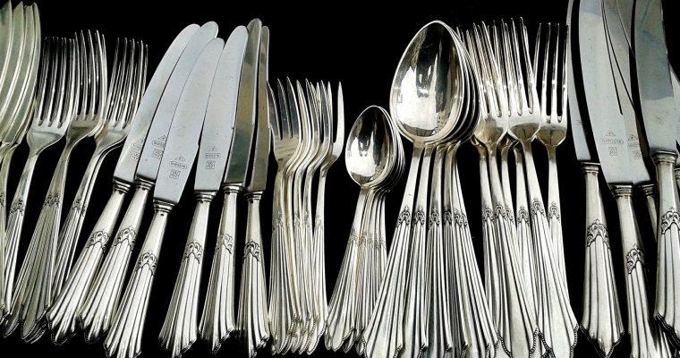 Silber ohne Aufwand reinigen